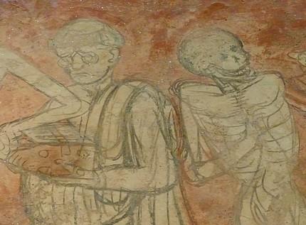 Forez info quand la peste frappait le forez for Chaise dieu danse macabre